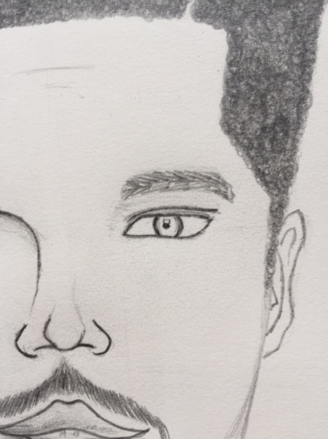 eye details: sharp edges
