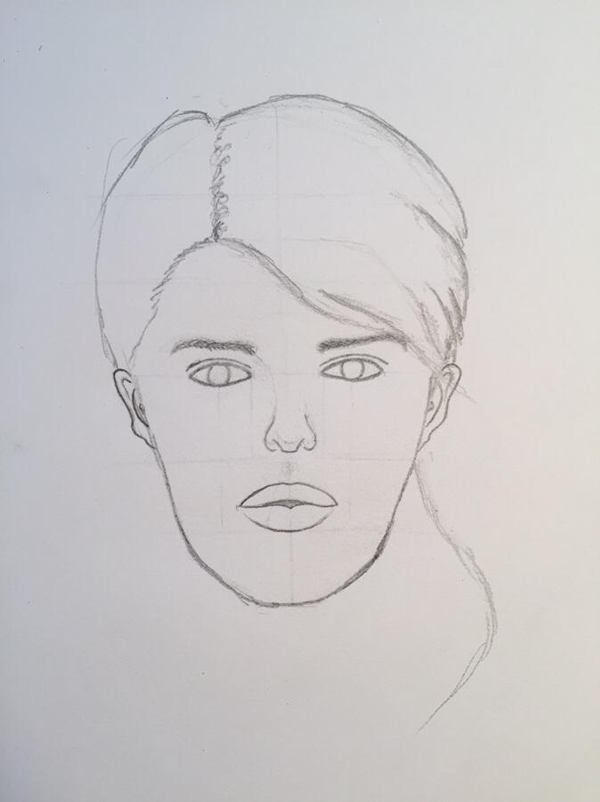 basic female face